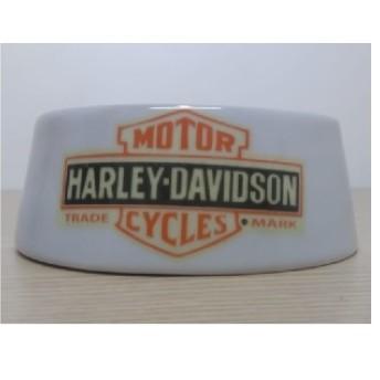 REPORComedouro para Cães/ Gatos - Motivo Harley-Davidson - Branco - Tam Grande - 022/41603