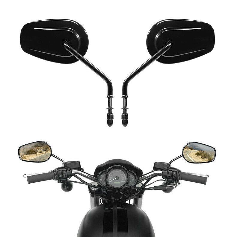 Espelho Retrovisor Glossy Black - Multifit - Par - 012/62904