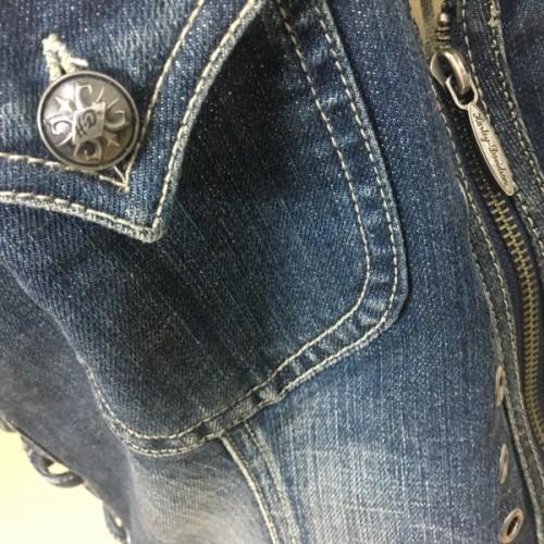 Frente Única Feminina em Jeans - Harley-Davidson - Tam. M - 040/53307