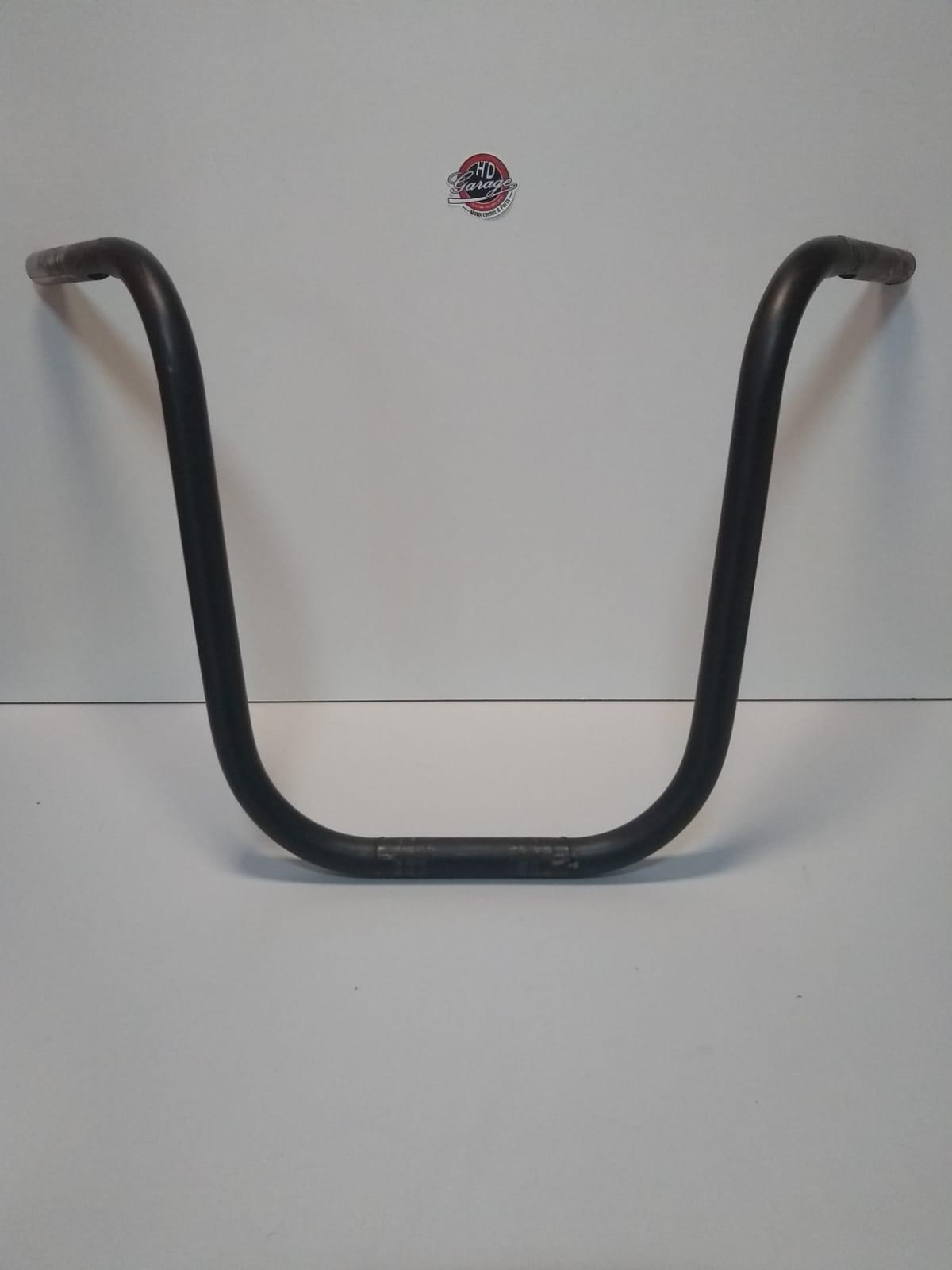 Guidão Ape Hanger - Altura 16 Polegadas - Tubo 1 Polegada - Preto Fosco - 009/61207