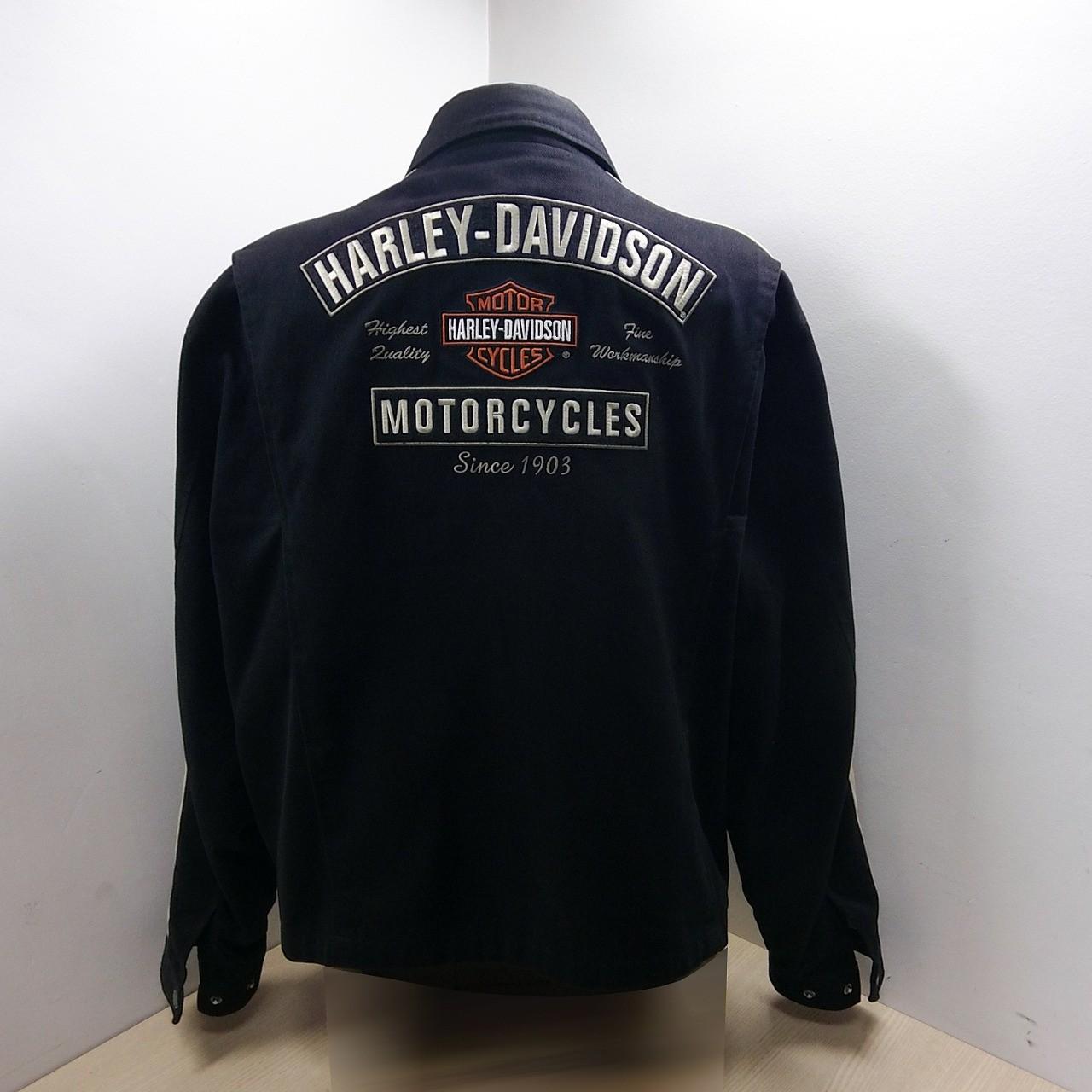 Jaqueta Masculina em Algodão - Harley-Davidson - Preta - 035/69902
