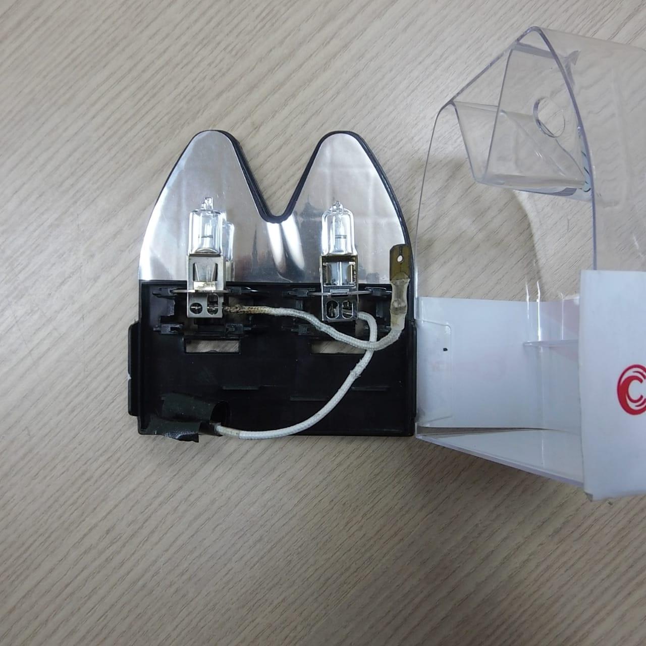 Lampada Farol AuxIliar - H3 Cinoy - Super Branca - Multifit - Par - 001/11001