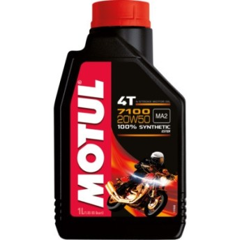 Motul 7100 4T 20W50 - Motor -7100 - 1 Litro - 104103