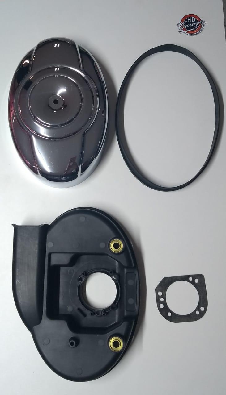 Peças Filtro de Ar - HD Softail - Suporte, Tampa e Vedações - 016/14166