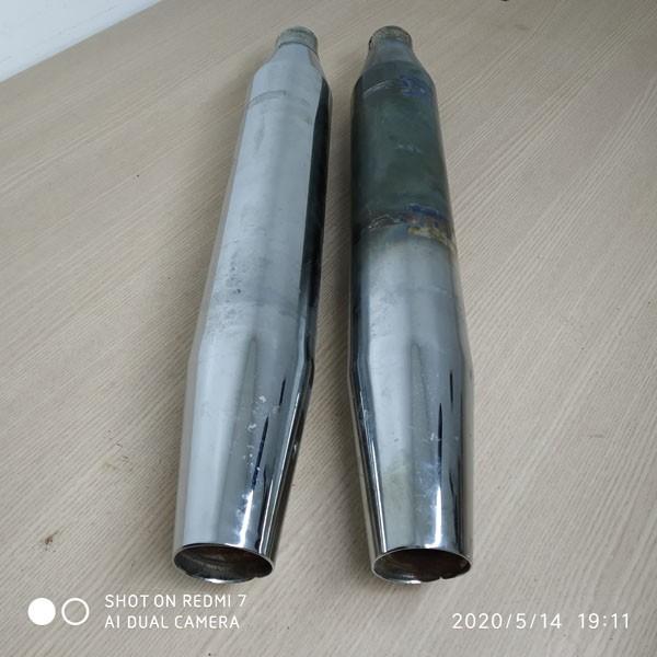 Ponteiras Originais Cromadas - HD Dyna - Par - 010/86608
