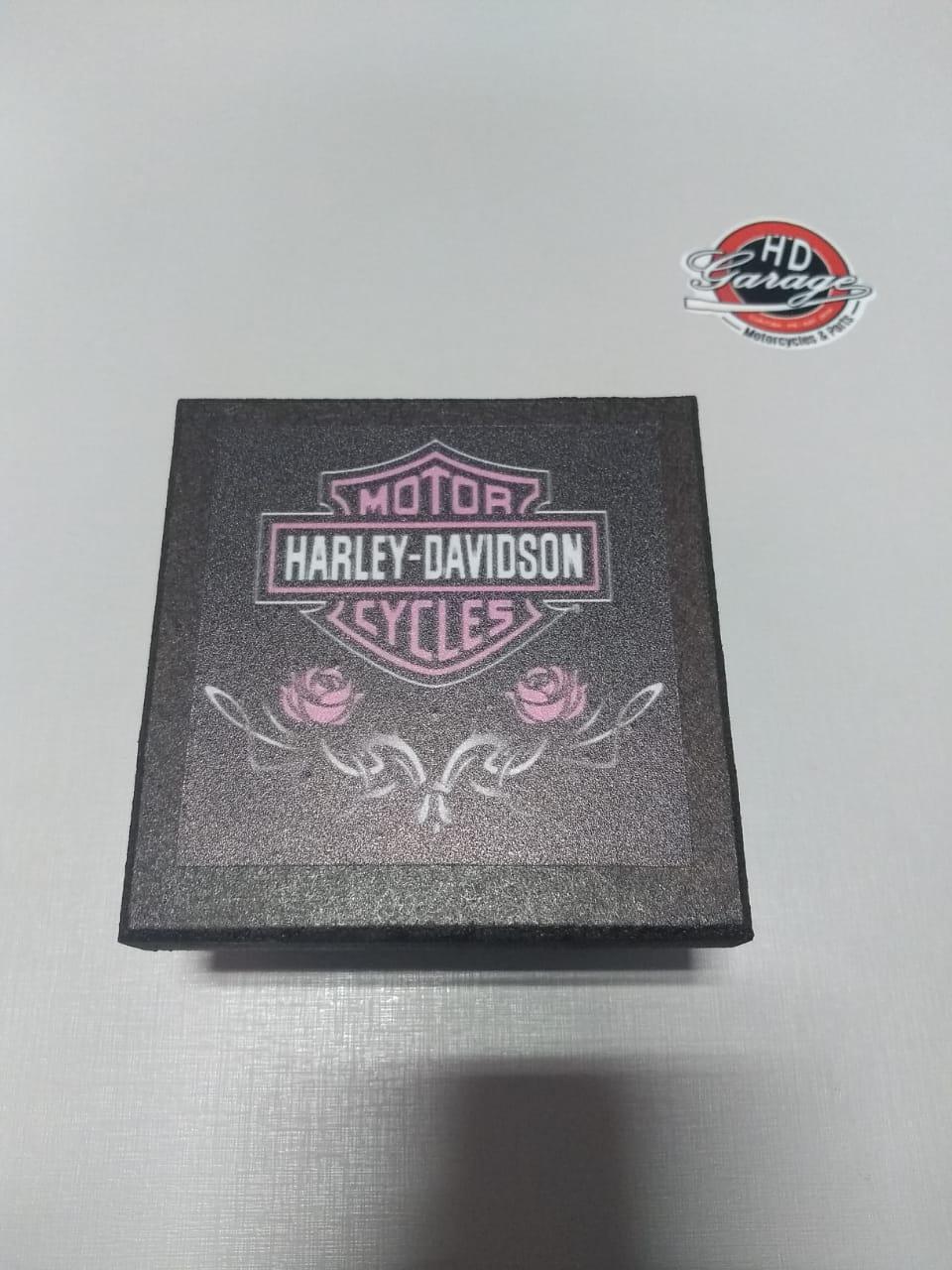 Porta Copos Artesanal em Madeira - Quadrados - 6 unidades - Modelo 03 - 022/54607