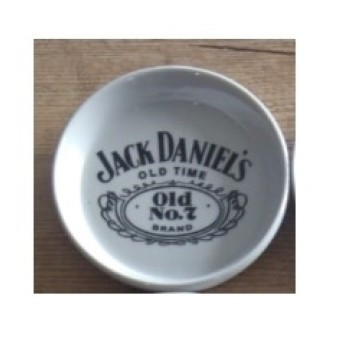 Porta Copos Branco - Motivo Jack Daniels - 6 unidades - 022/12705