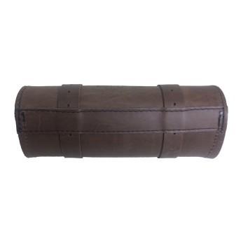 Porta Ferramentas Em Couro - Motivo Bar&Shield - Tam Pequeno - Marrom - 008/13409