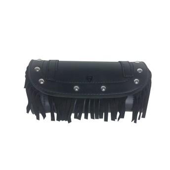 Porta Objetos em Couro Com Franjas - Multifit - 008/60801