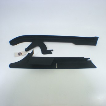 Proteção da Correia Superior e Inferior - HD Vrod - Preta Fosca - 015/00500
