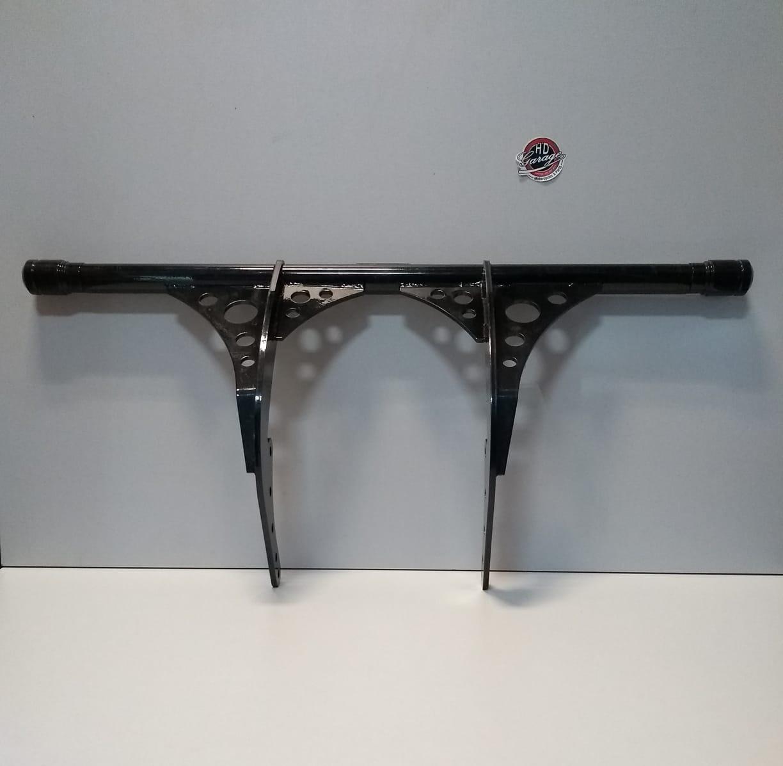 Protetor de Motor - Modelo Crash Bar - HD Softail Fat Bob/Low Rider 2018 à 2020 - Preto - 015/76006