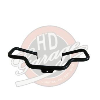 Protetor de Motor Preto Fosco Moustache - Red Choppers - HD Softail - 015/75922
