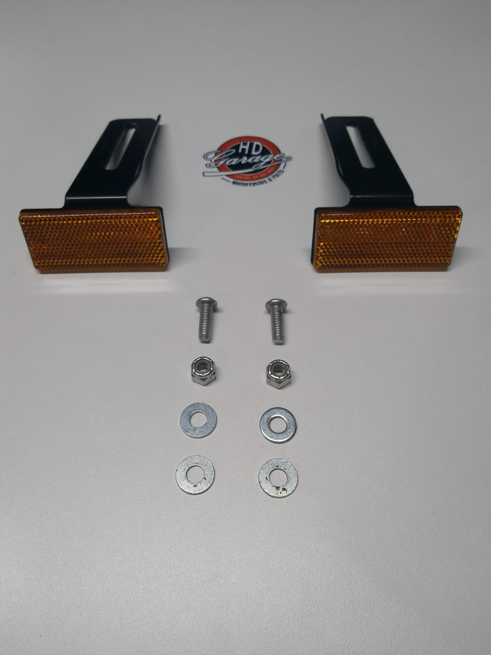 Refletivos Laterais de Placa - HD Iron - Cor Laranja - 001/99200