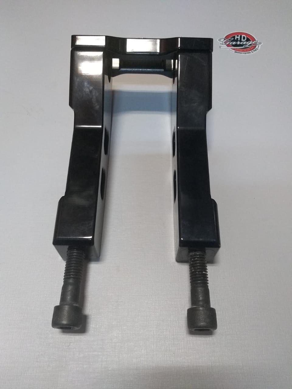 Riser Para Guidão de 1 Polegada - Altura 7 Polegadas - Preto - 009/54105