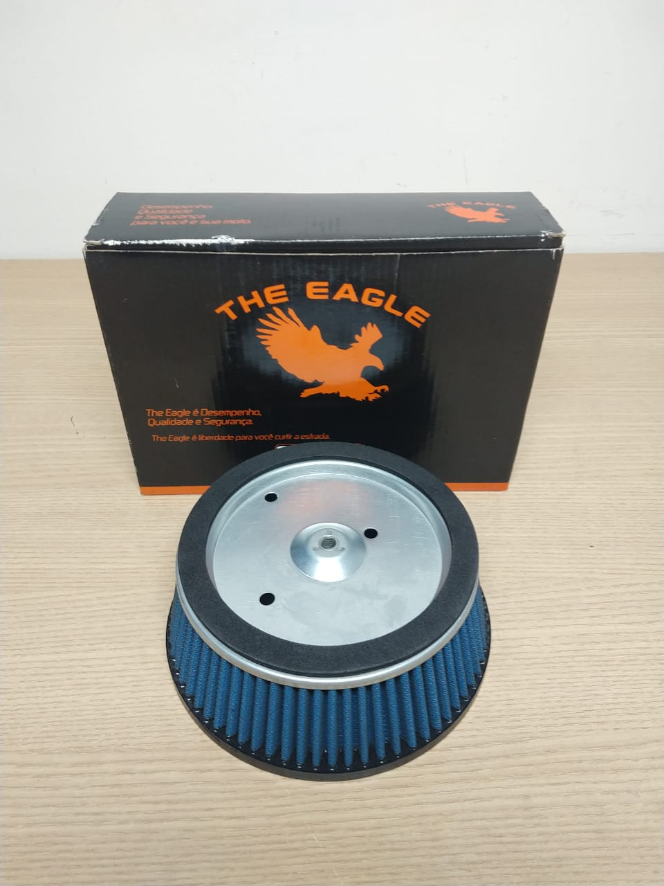 TE 1001 - Filtro De Ar The Eagle Hd Touring 2008 à 2017 - Redondo - 016/11693