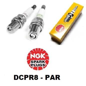 Vela de Ignição NGK - Harley - Davidson - DCPR8E - Par - 014/34704