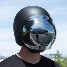 Viseira Bubble Espelhada em Policarbonato - Universal - 027/36800
