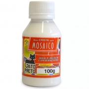 Base Cristal para Mosaico Gato Preto 100 ml