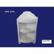 LLA-173 APLIQUE PRATELEIRA 3D 6,5X04CM