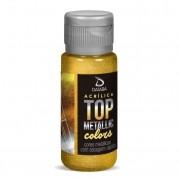 Tinta Acrílica Metálica Top Colors 60ml - Todas Cores