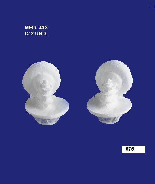 575 ABAJUR DO COD 288 04X03CM C/ 2 UND.