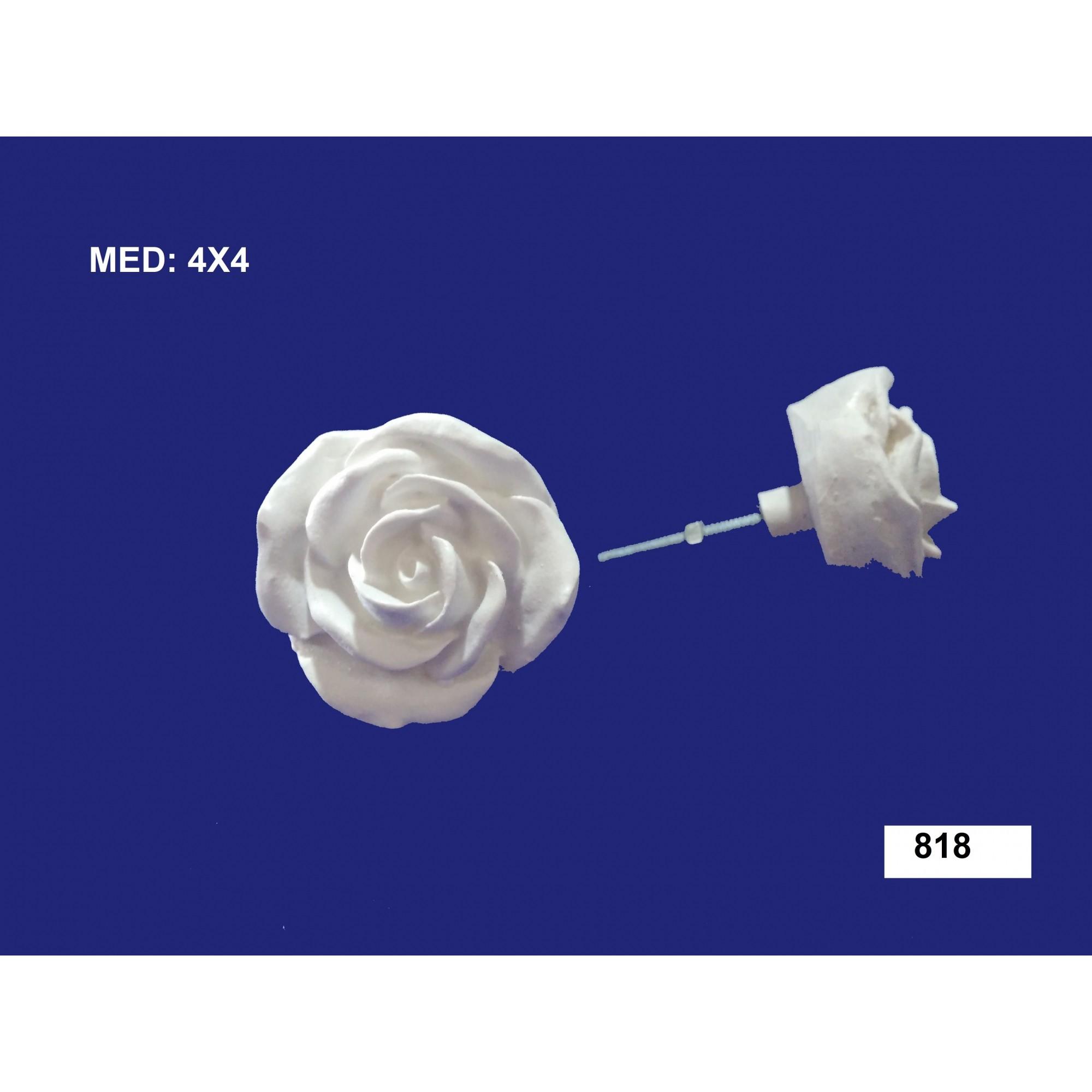 818 PUXADOR DE ROSA GRANDE 04x04CM