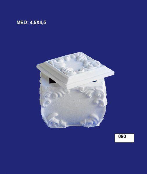 090 PORTA JOIA QUADRADO 4,5X4,5CM