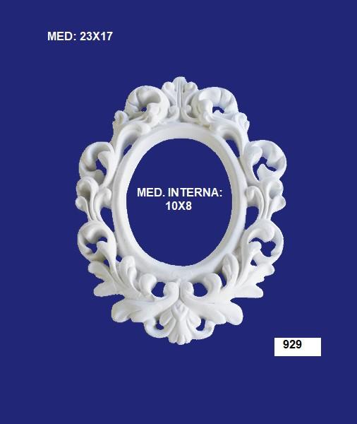 929 MOLDURA GÓTICA 23X17 INT: 10X08CM