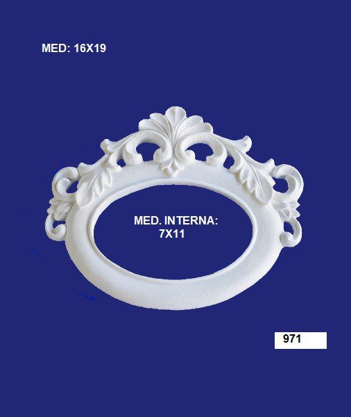 971 MOLDURA 16X19 INT: 07X11CM