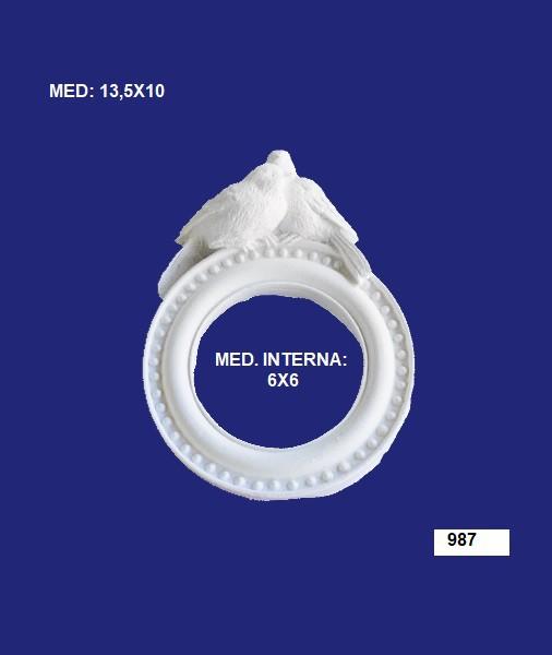 987 MOLDURA 13,5X10 INT: 06X06CM