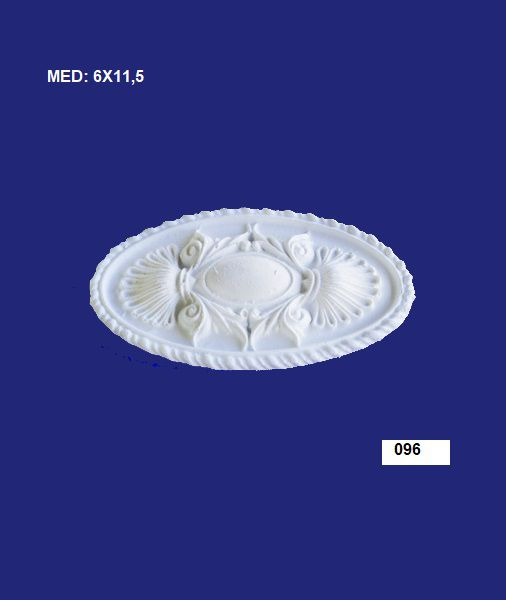 096 APLIQUE CENTRAL OVAL 06X11,5CM