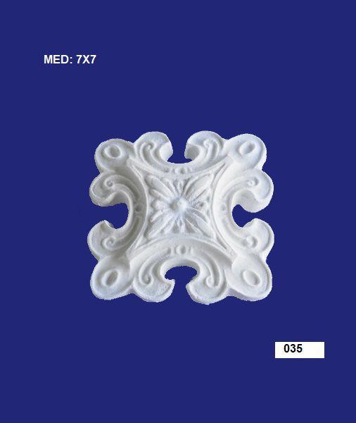 035 APLIQUE ESTRELA 7X7CM