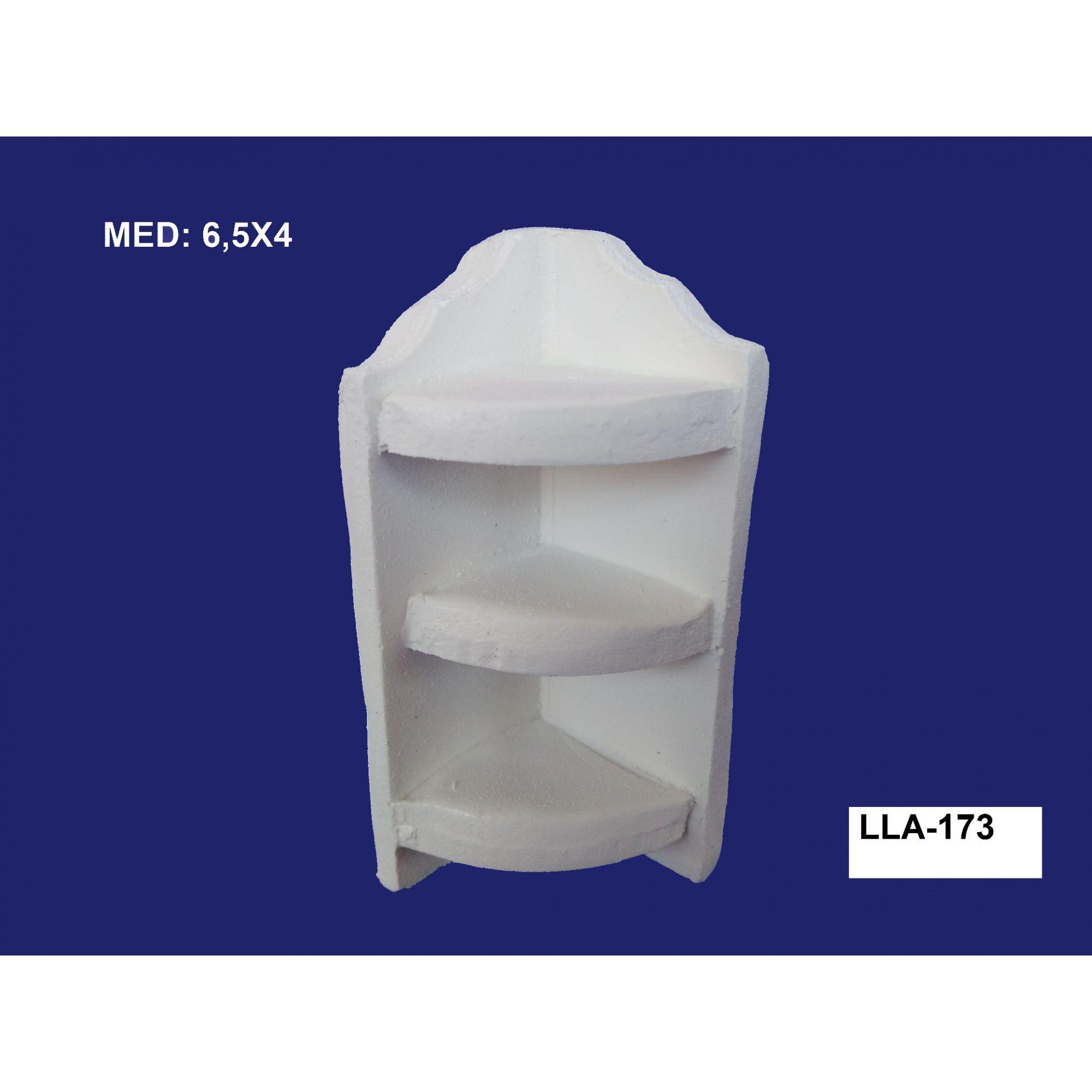 LA-173 APLIQUE PRATELEIRA 3D 6,5X04CM