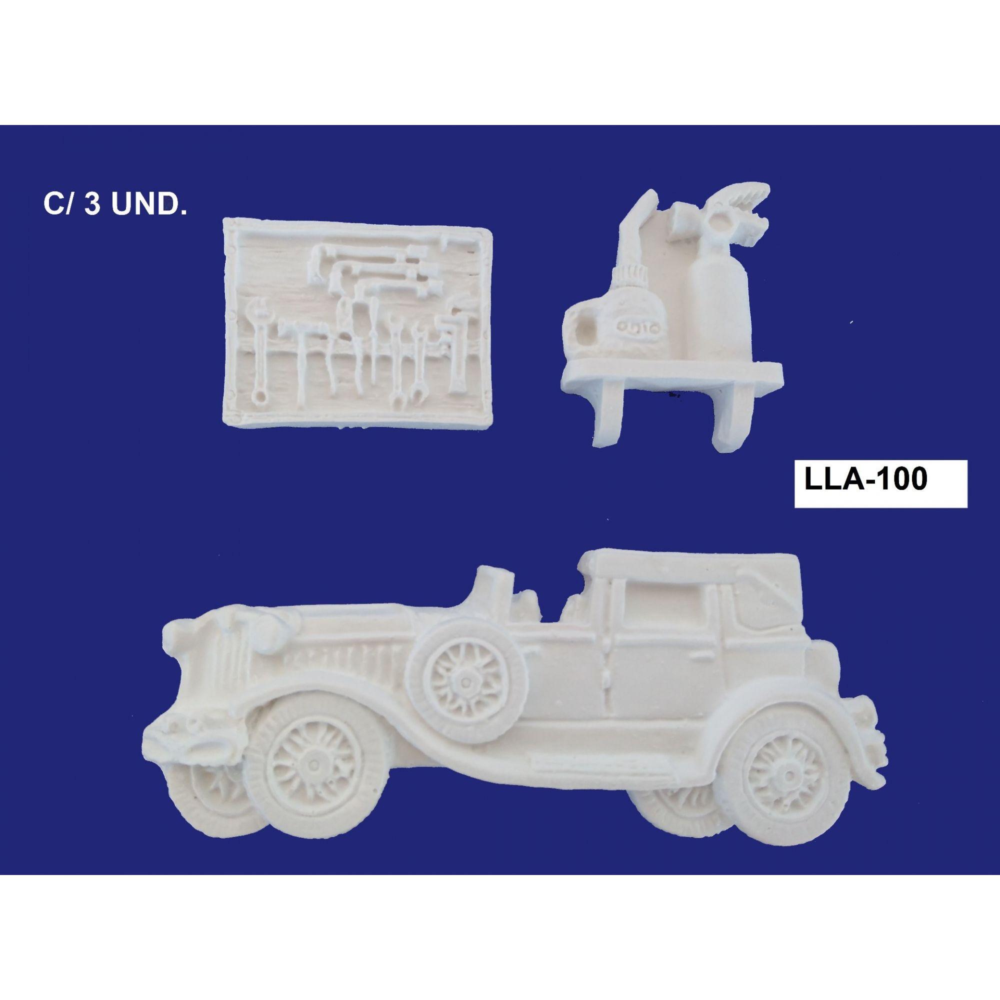 LLA-100 APLIQUE KIT CARRO C/ 3 UND.
