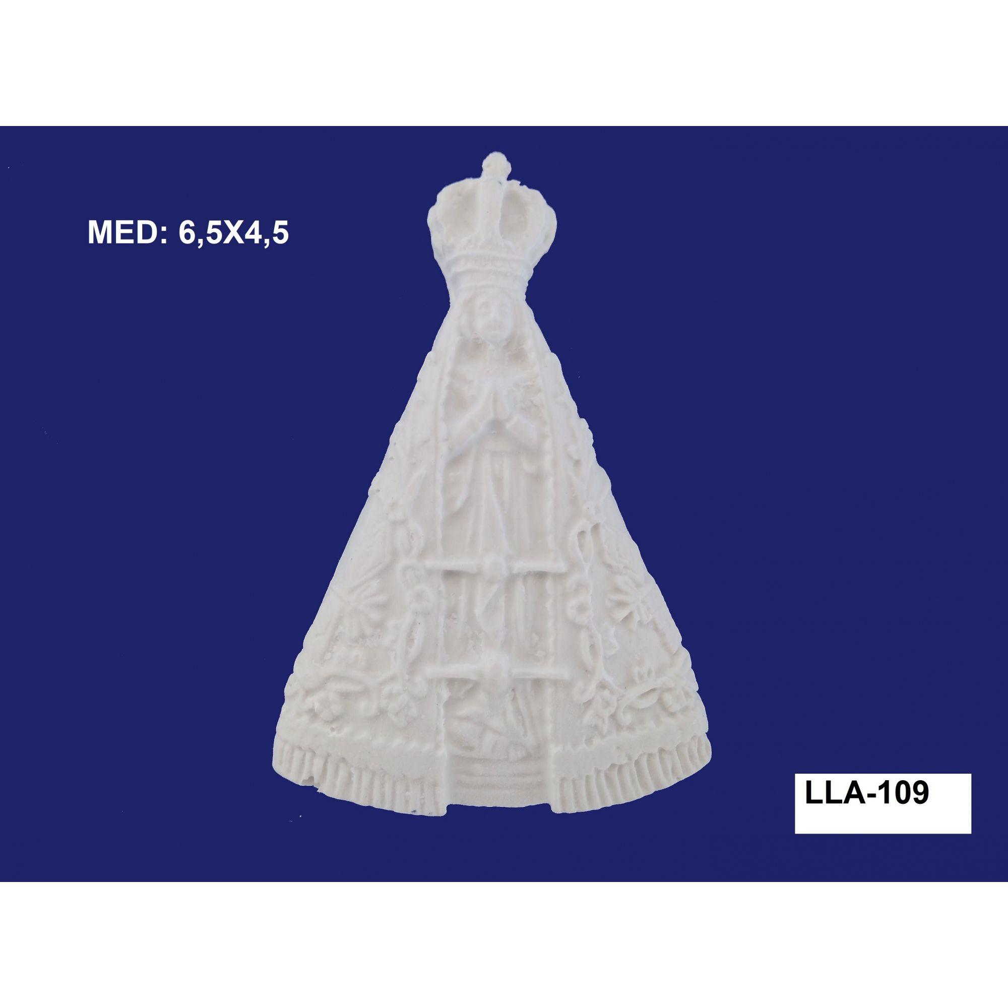 LLA-109 APLIQUE NOSSA SENHORA PEQ. 6,5X4,5CM