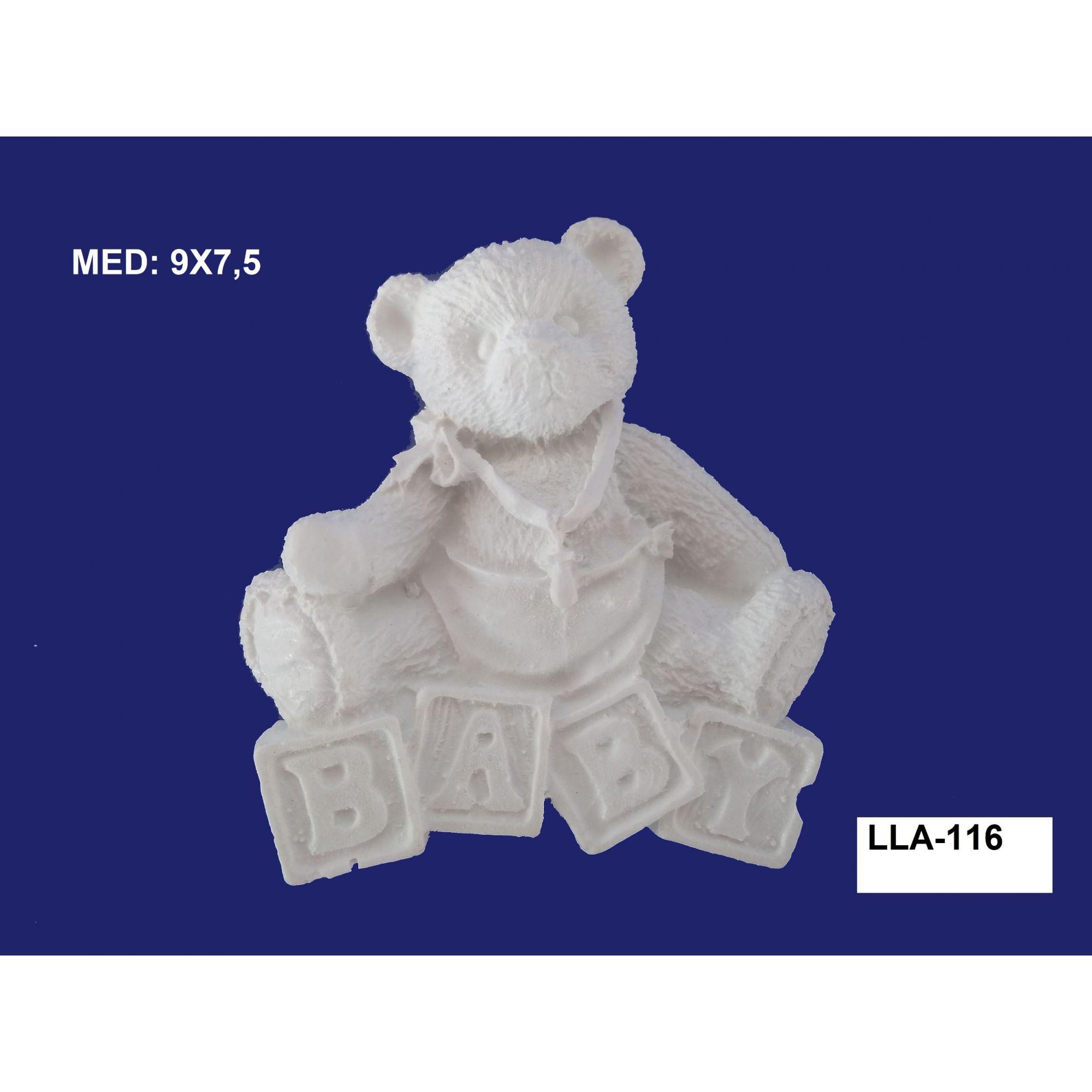 LLA-116 APLIQUE URSO BABY 09x7,5CM