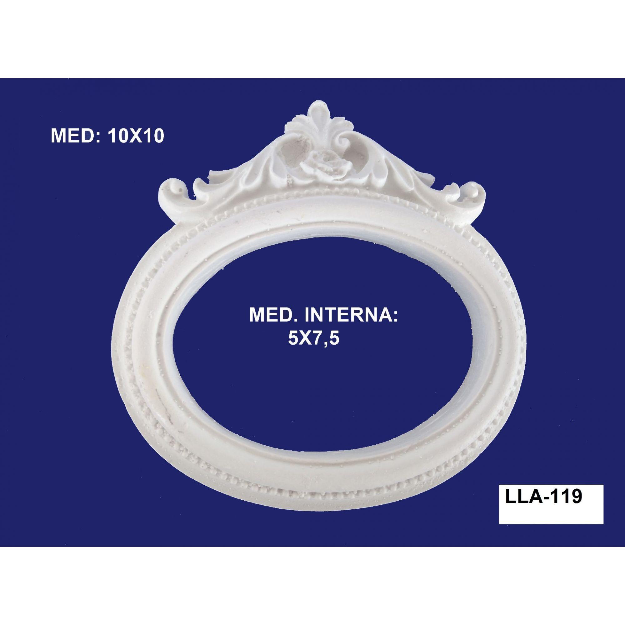 LLA-119 APLIQUE MOLDURA10x10 INT: 05x7,5CM