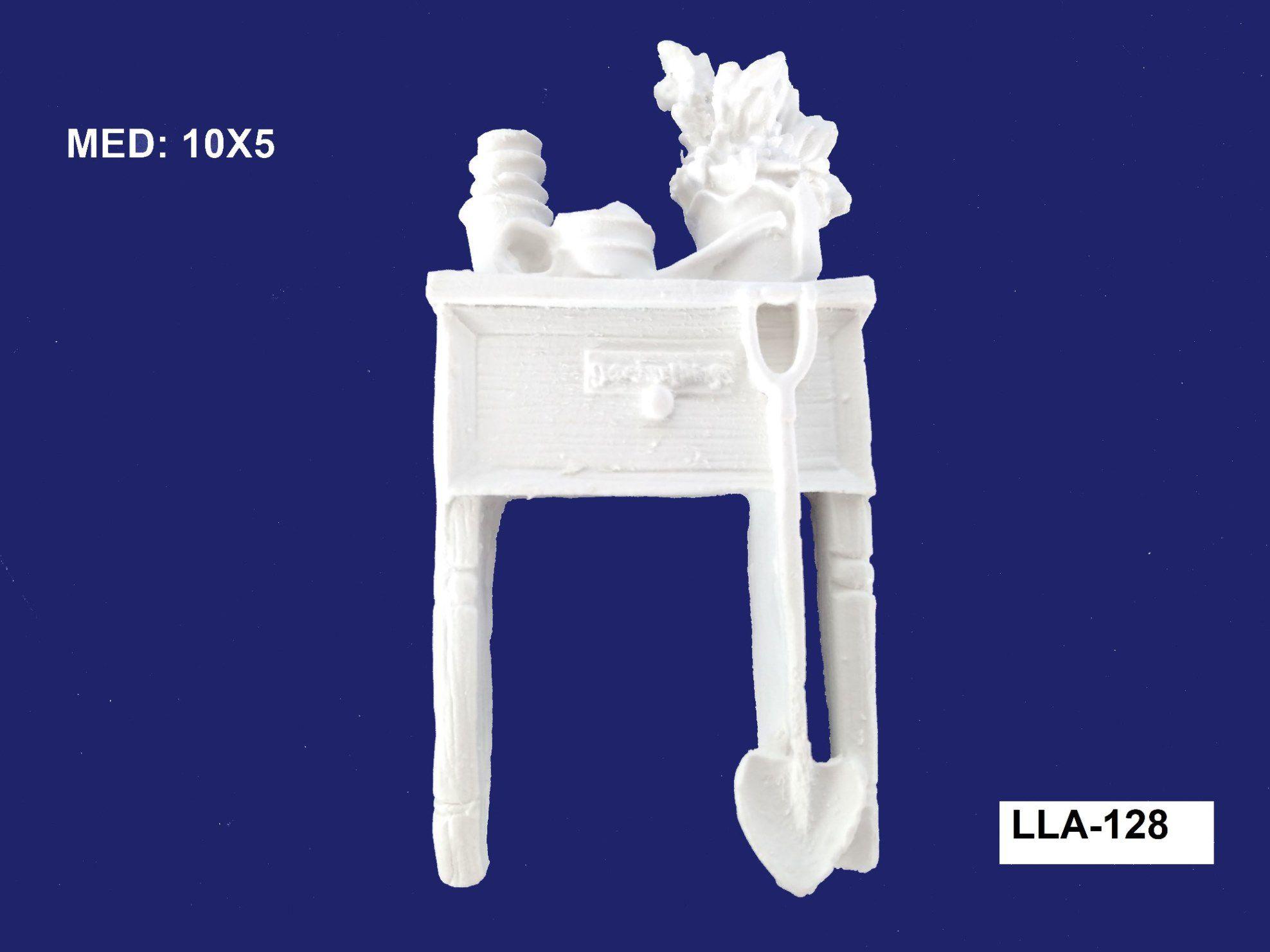 LLA-128 APLIQUE MESA 10x05CM
