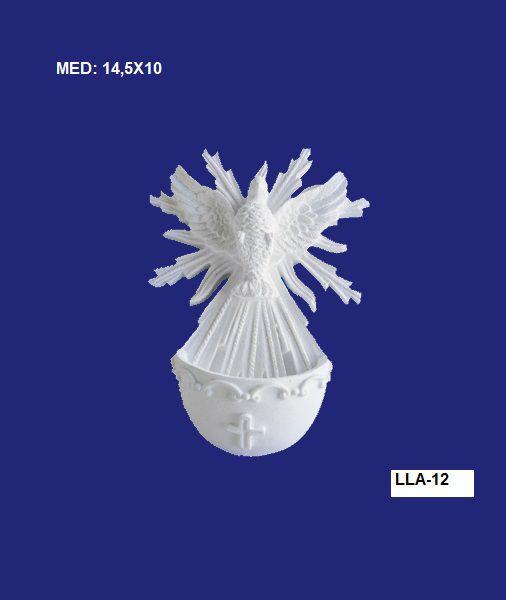 LLA-12 APLIQUE DIVINO C/ PIA 14,5X10CM