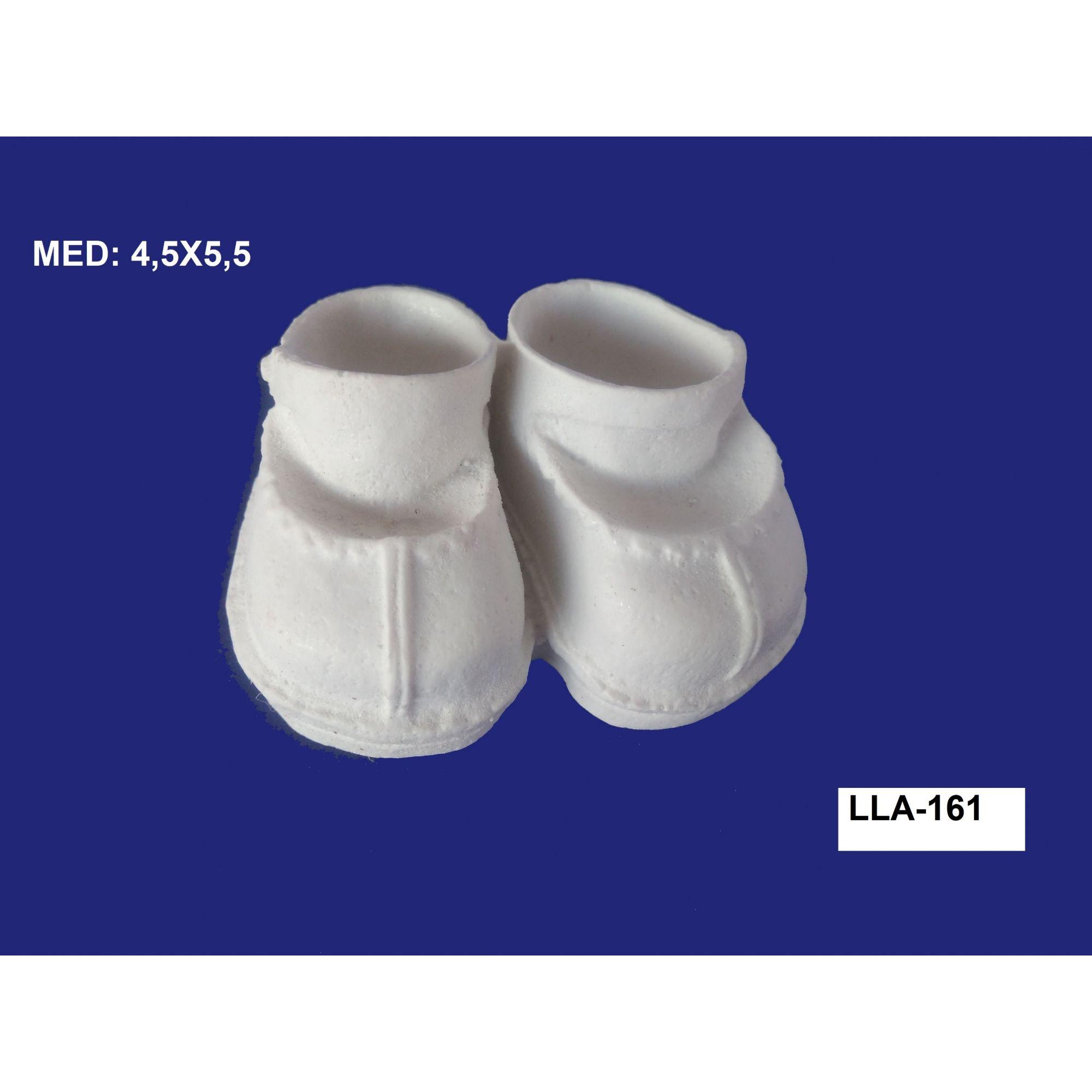 LLA-161 SAPATO 3D 4,5X5,5CM