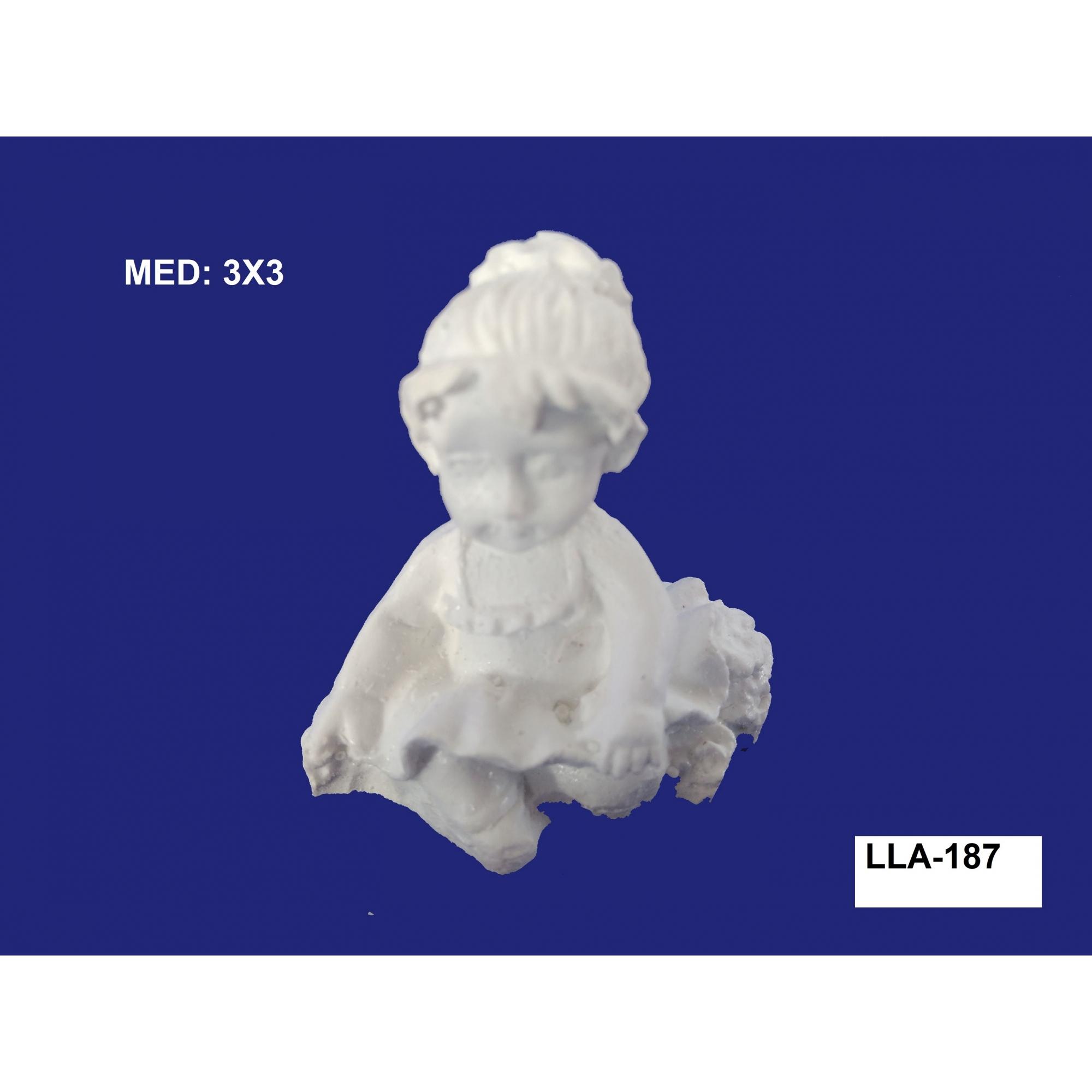 LLA-187 BAILARINA PEQ 3D 03X03CM