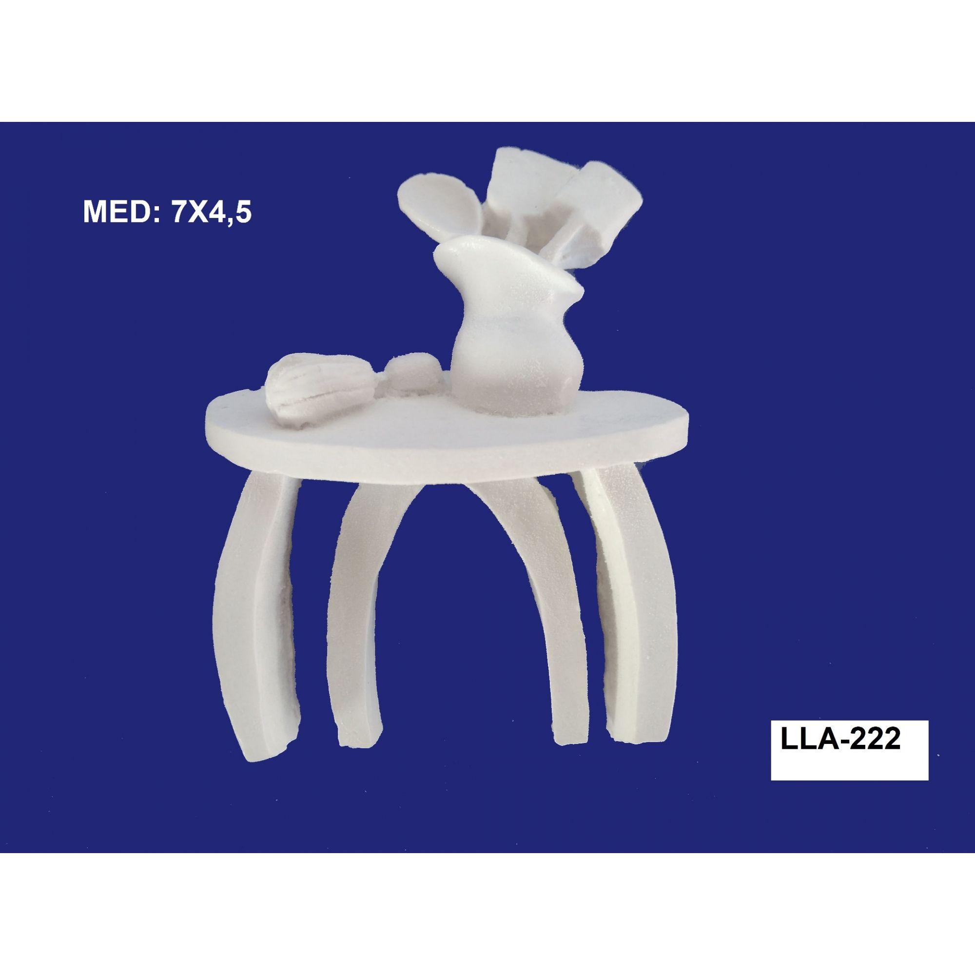 LLA-222 APLIQUE MESA 07X4,5CM
