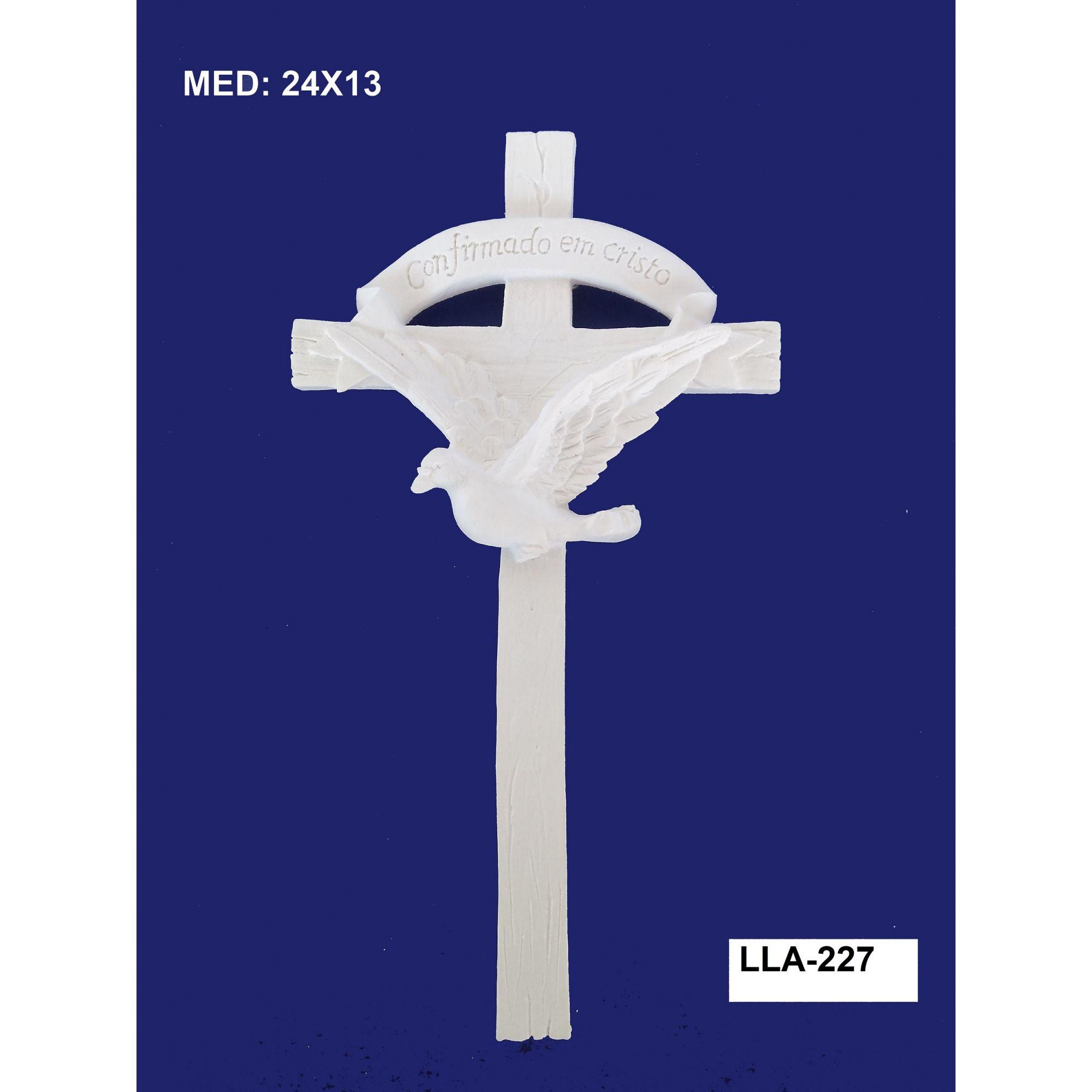 LLA-227 APLIQUE CRUZ 24X13CM