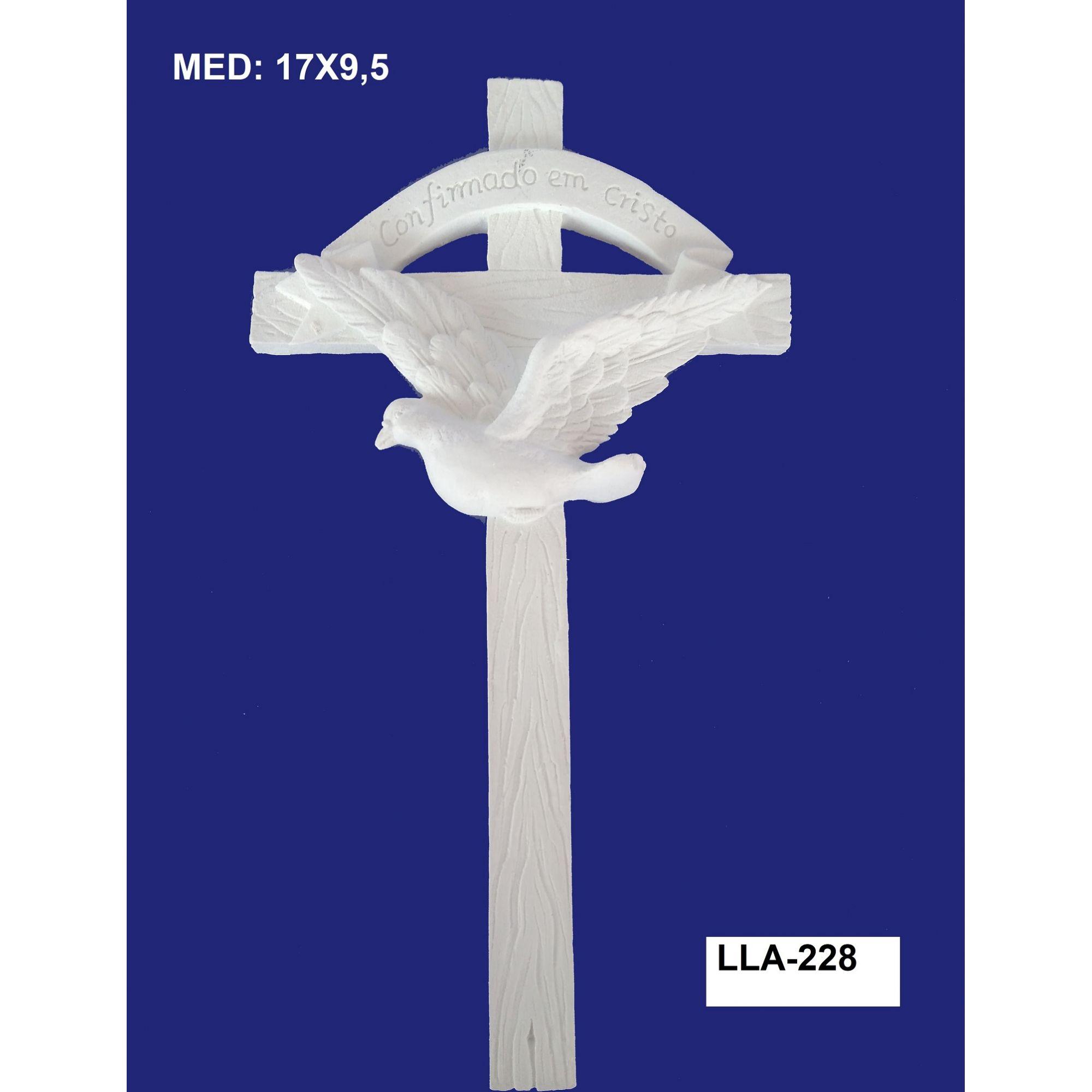 LLA-228 APLIQUE CRUZ 17X9,5CM