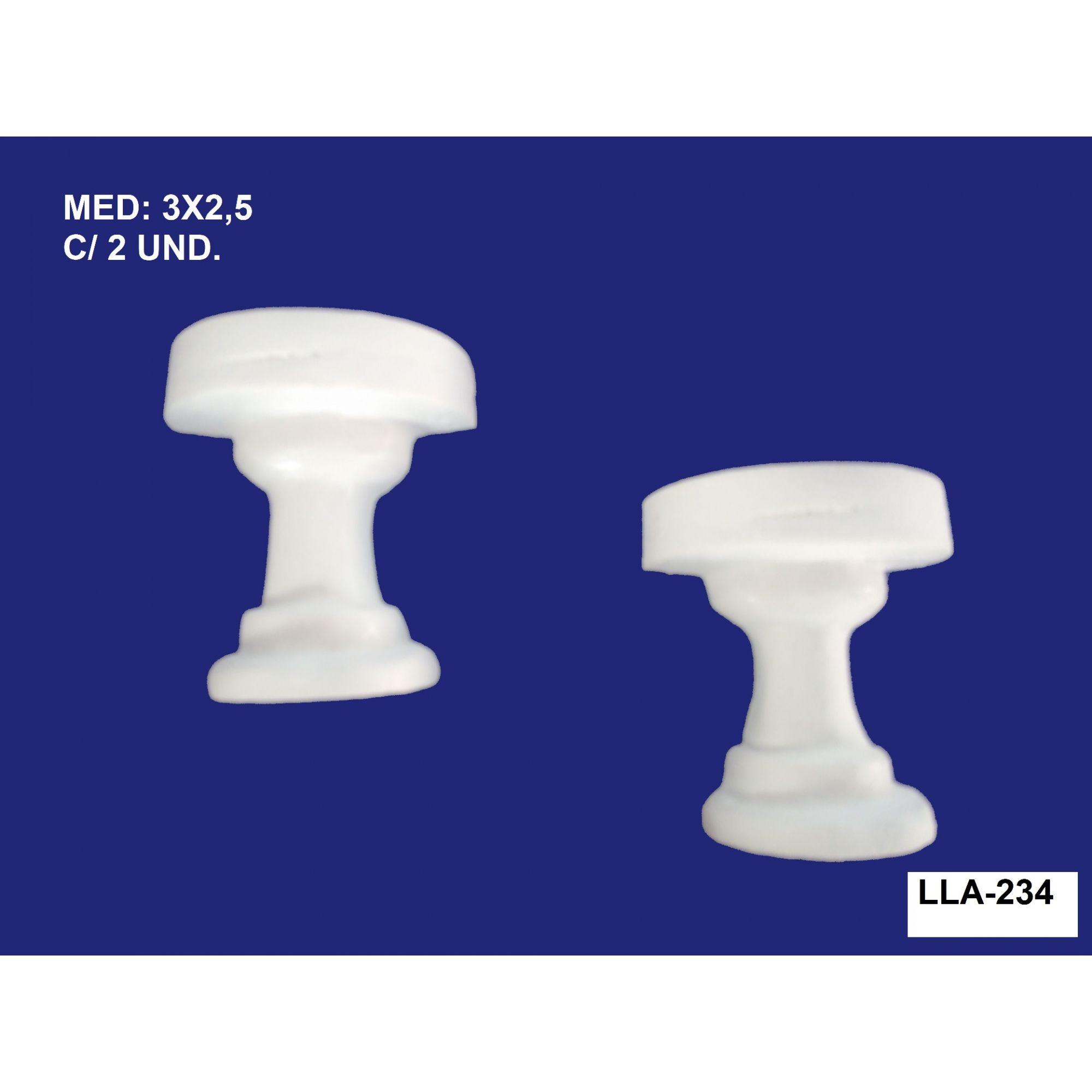 LLA-234 APLIQUE MESA PEQ. 03X2,5CM C/ 2 UND.
