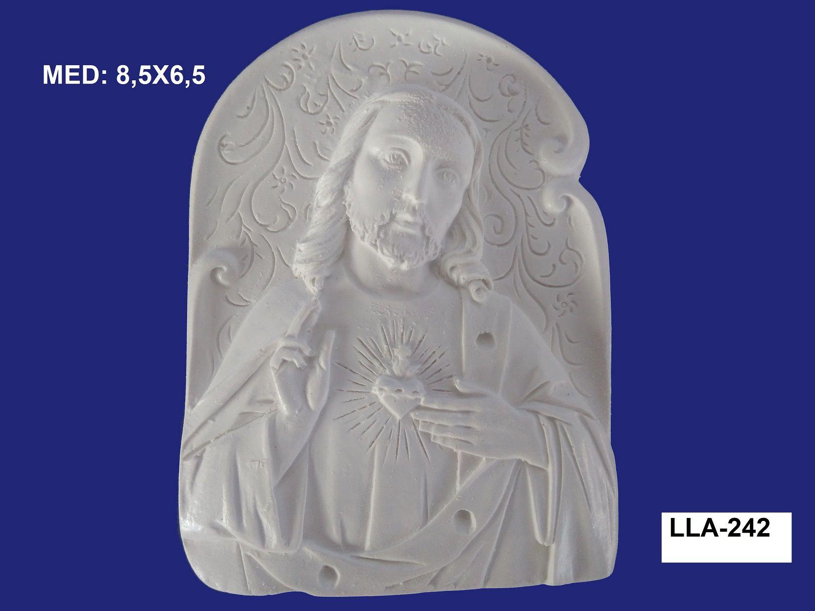 LLA-242 APLIQUE JESUS 8,5X6,5CM