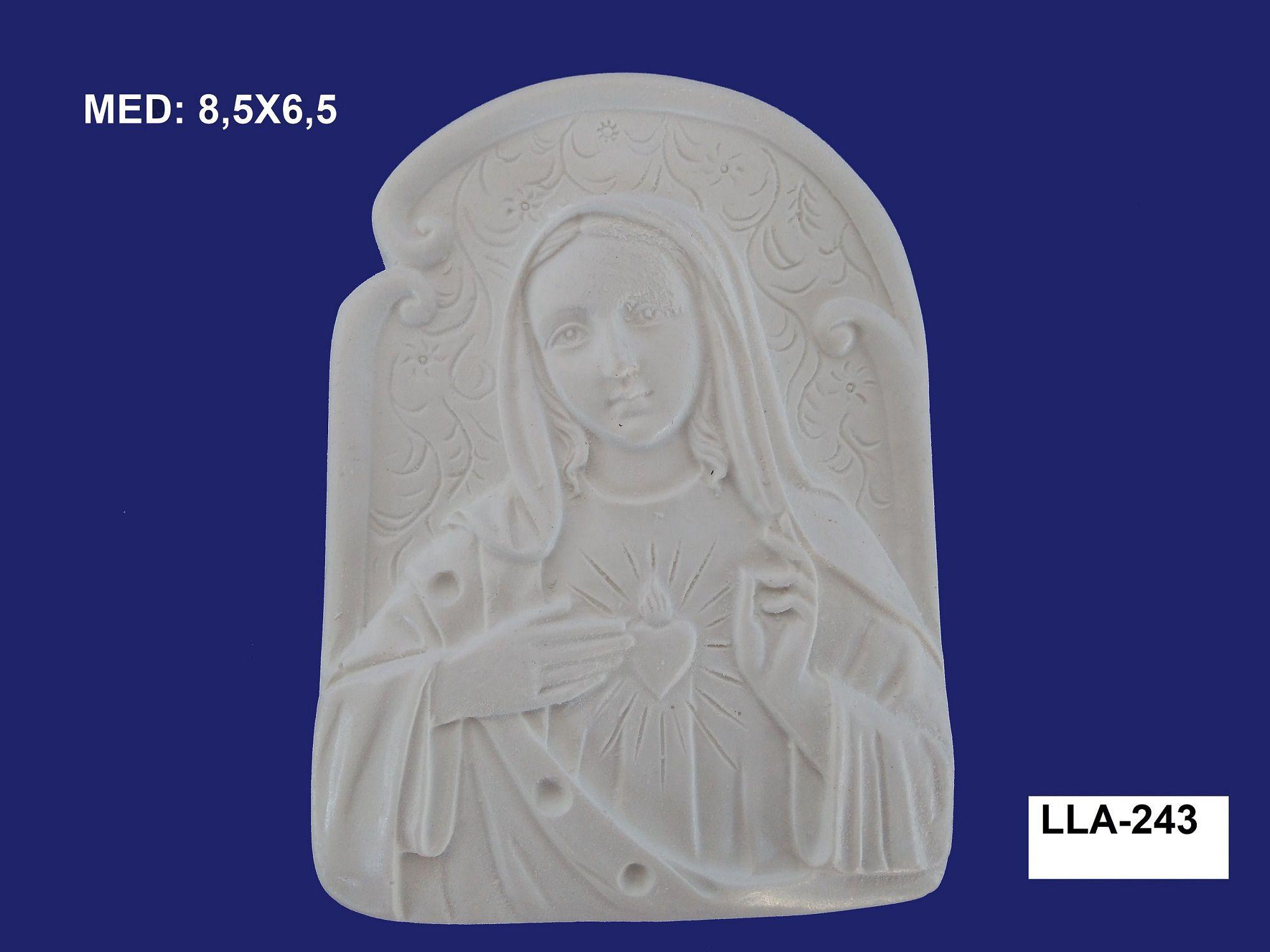 LLA-243 APLIQUE MARIA 8,5X6,5CM