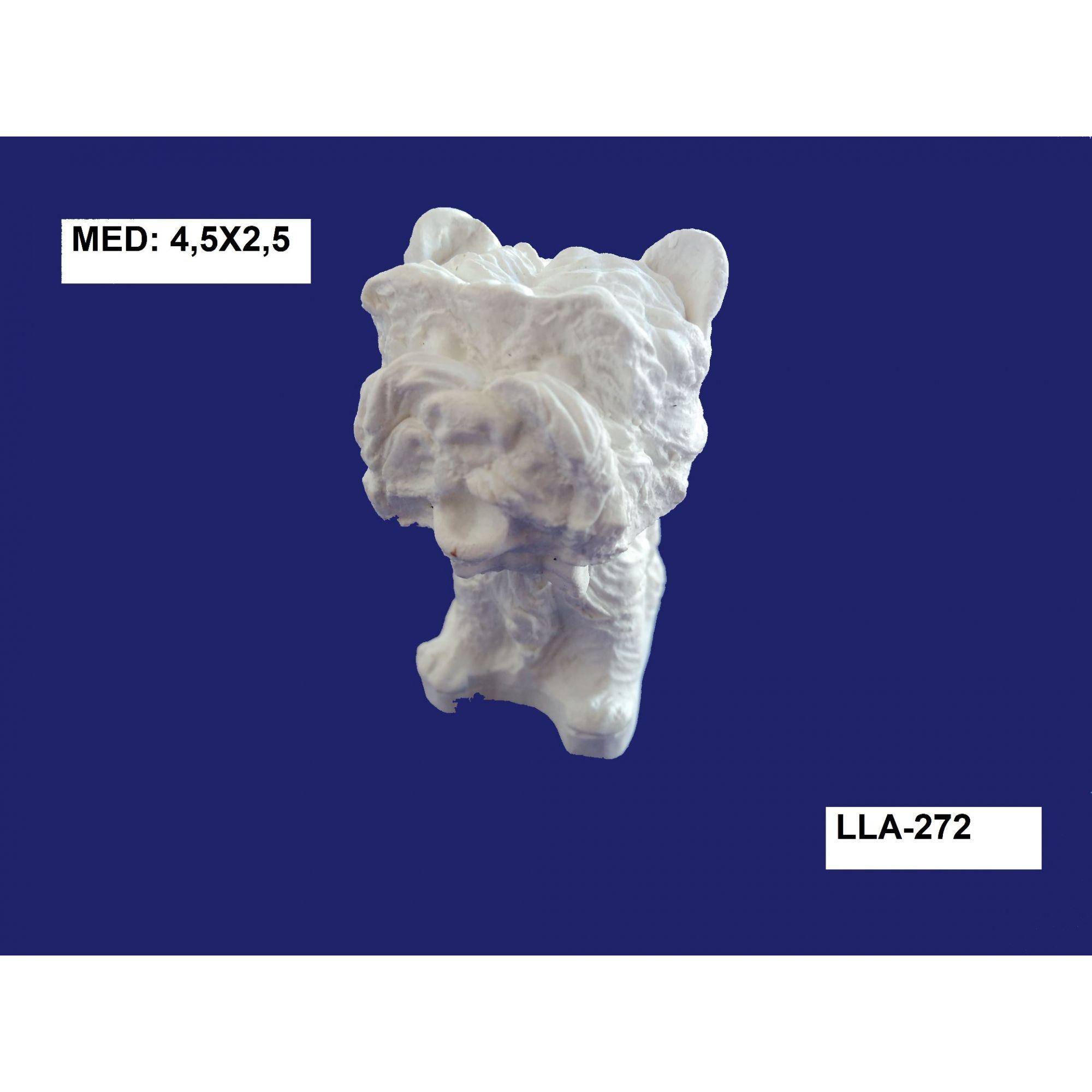 LLA-272 CACHORRO 3D 4,5X5,5CM