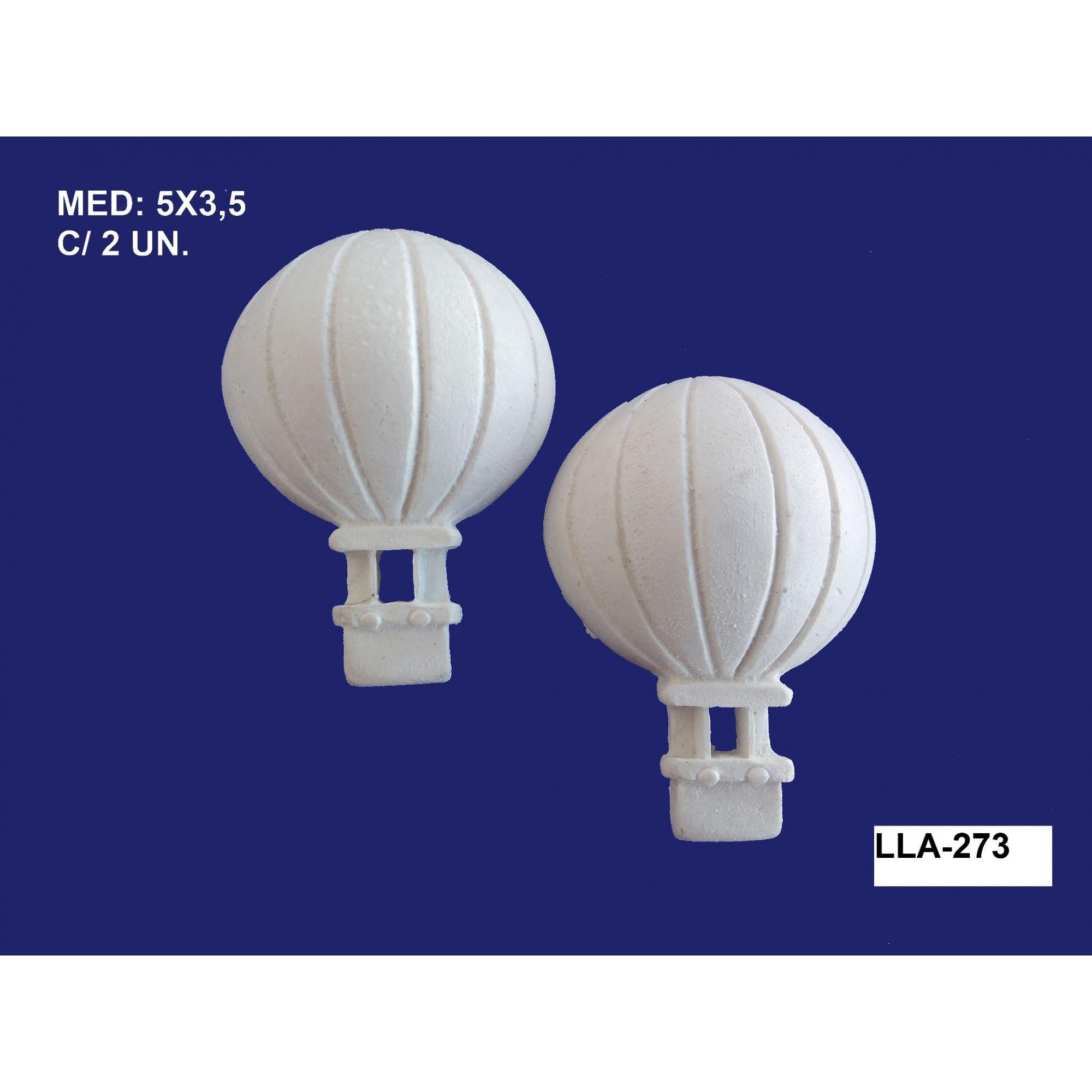 LLA-273 APLIQUE BALÃO 05X3,5CM C/ 2 UND.