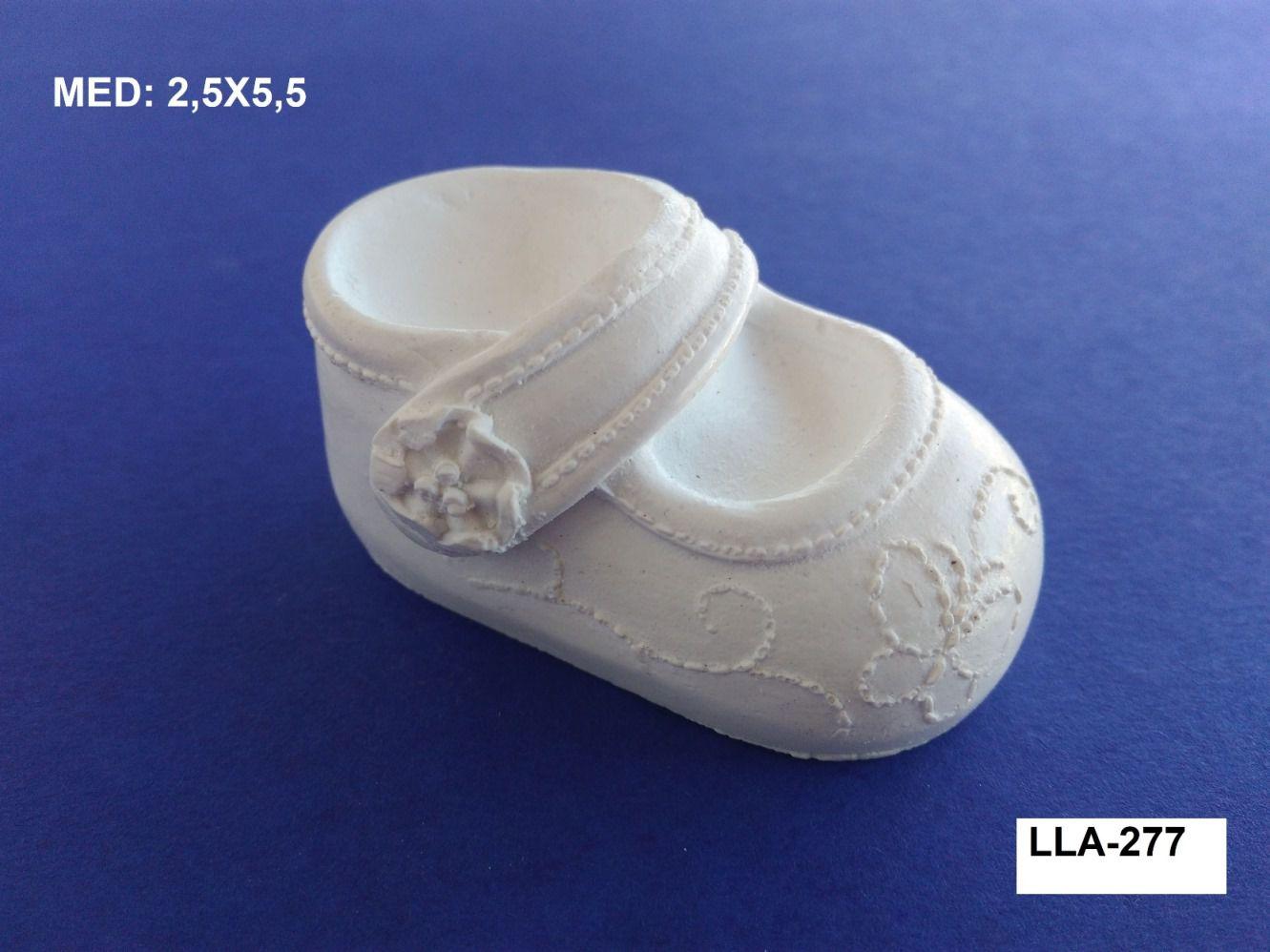 LLA-277 APLIQUE SAPATO 3D 2,5X5,5CM